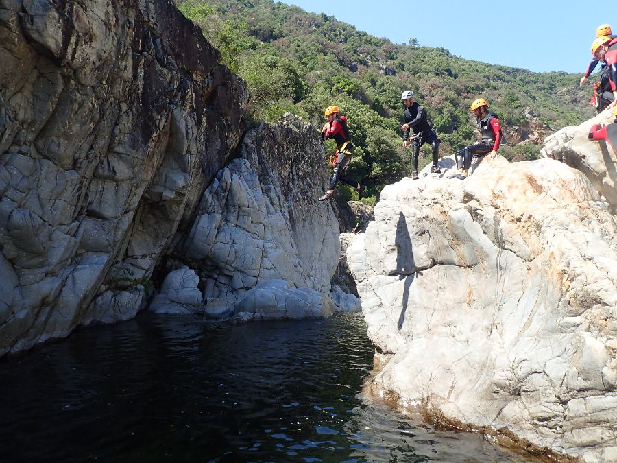 Canyon Du Soucy Dans Le Gard En Cévennes, Près D'Anduze Et D'Alès, Avec Entre2nature