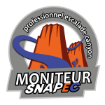 Moniteurs escalade et canyoning SNAPEC à Montpellier