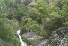 Canyoning Extrème Au Ruisseau D'Albès Dans L'Hérault Et Le Gard,