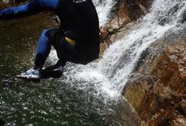 Canyoning Aquatique Dans Les Cascades D'Orgon En Cévennes Dans Le Gard. Tout Près De Montpellier, Avec Les Moniteurs D'entre2nature