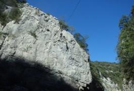 Tyrolienne En Canyoning Avec Les Moniteurs De Montpellier, Dans L'Hérault Et Le Gard En Languedoc-Roussillon.