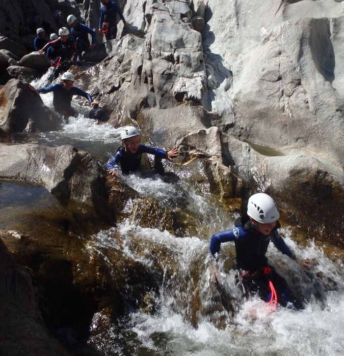 Canyoning Initiation Dans Le Soucy
