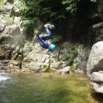 Enterrement De Vie En Cévennes En Canyoning Près Du Gard Et Montpellier