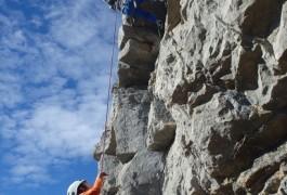 Escalade à Valflaunès, Avec Les Moniteurs Languedoc D'entre2nature, Basé Sur Montpellier, Dans L'Hérault Et Le Gard. Sports De Pleine Nature