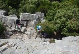 L'escalade Est Un Sport De Pleine Nature Pratiqué Avec Des Professionnel Basé Sur Montpellier, En Languedoc-Roussillon