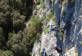 Escalade Grande Voie Dans L'Hérault Et Le Gard, Avec Des Guides Professionnels Des Activités De Pleine Nature, Basé Sur Montpellier.