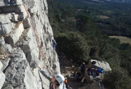 Escalade Initiation à Valflaunès, Près De Montpellier, Dans L'Hérault Et Le Gard. Activités De Pleine En Languedoc-Roussillon