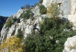 Via-ferrata Et Tyrolienne Dans Le Thaurac Près De Montpellier Avec Les Moniteurs D'entre2nature Du Languedoc-Roussillon