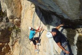 Entre 2 Nature: Sports De Pleine Nature Dans L'Hérault Et Le Gard. Via-ferrata, Canyoning, Escalade Et Randonnée-rappel