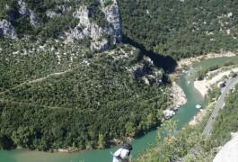 Via-ferrata Dans L'Hérault Et Le Gard, Près De Montpellier