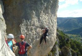 Millau: Capitale Des Sports De Pleine Nature. Via-ferrata, Canyoning, Escalade, Parcours Aventure...