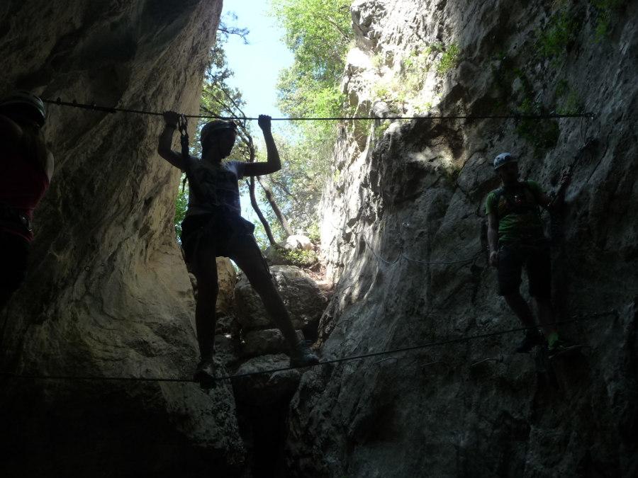 Ré-ouverture De La Via-ferrata Du Thaurac