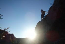 Via-ferrata Du Thaurac Et Activité De Pleine Nature Près De Ganges Dans Le Languedoc-Roussillon