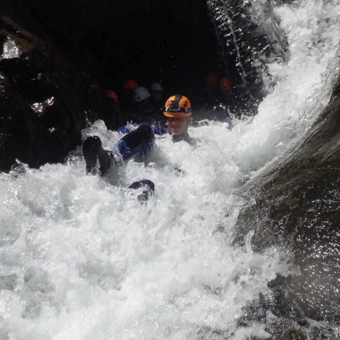Canyoning En Cévennes Dans Le Gard, Au Canyon Du Soucy