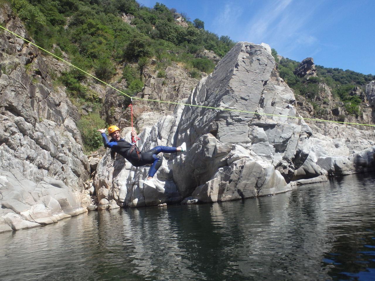 Canyoning Du Soucy En Cevenns Dans Le Gard, Près D'Anduze
