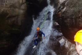 Canyoning En Cévennes En Lozère, Près D'Anduze Et Saint-Jean Du Gard