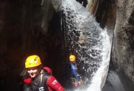 Canyoning En Lozère En Cévennes Dans Le Tapoul Au Mont Aigoual, Entre Gard Et Hérault