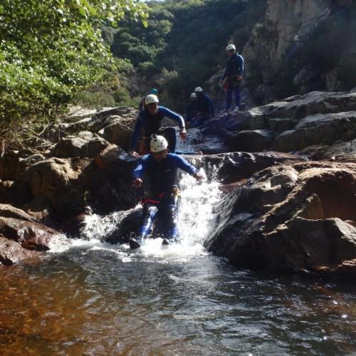 Canyoning Et Nature Dans Le Rec Grand, Dans Le Parc Naturel Du Haut Languedoc