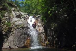 Toboggan En Canyoning Aux Cascades D'Orgon Dans Les Cévennes