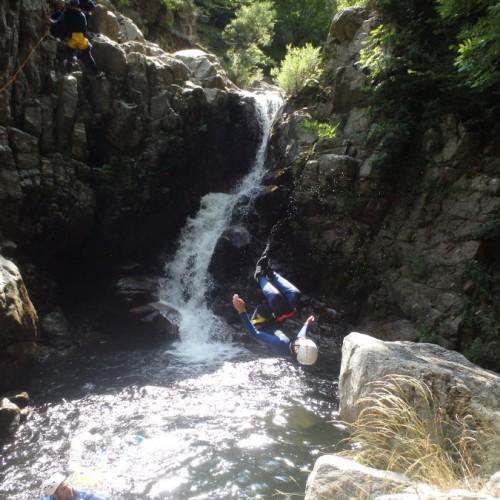 Canyoning En Cévennes Au Vigan Dans Le Gard Aux Cascades D'Orgon