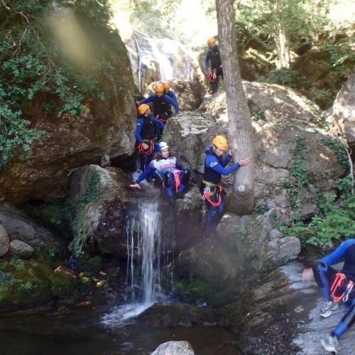 Canyoning Dans L'Hérault, Au Coeur Du Caroux, Dans Le Parc Naturel Du Haut Languedoc