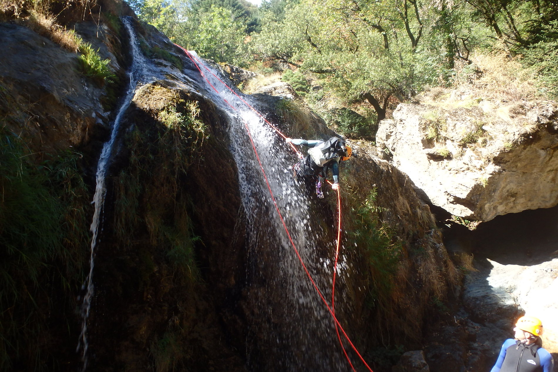 canyoning-caroux-albes-rappel-herault