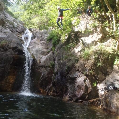 Canyoning En Cévennes, Près Du Mont Aigoual Dans Le Gard: Cascades D'Orgon