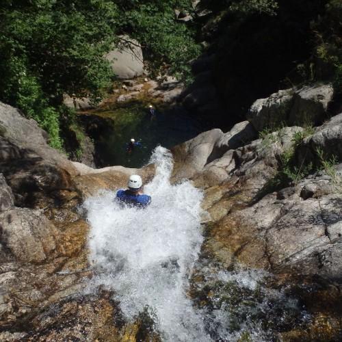 Canyoning Dans Le Gard En Cévennes, Près De Montpellier