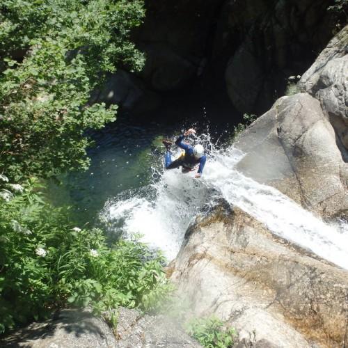 Canyoning Dans Le Gard En Cévennes, Aux Frontière De L'Héraut