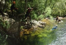 Canyoning Dans Le Gard Au Vigan En Cévennes