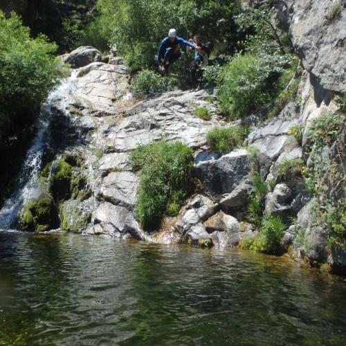 Canyon En Cévennes Dans L'Orgon, Près Du Vigan Dans Le Gard