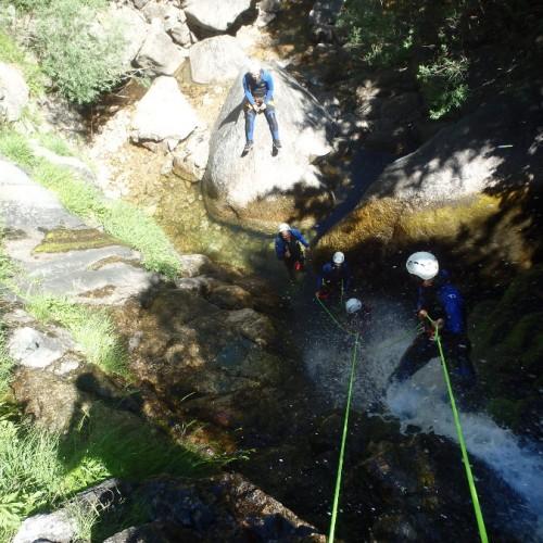 Canyon Aux Cascades D'Orgon Dans Le Gard Et Les Cévennes, Tout Près Du Vigan