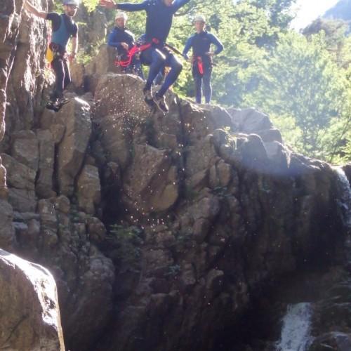 Canyoning Aux Cascades D' Orgon Dans Le Gard En Cévennes Au Vigan