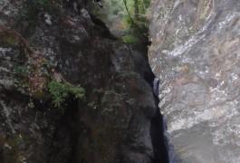Canyon De L'Albès Dans Le Caroux, Au Coeur De L'Hérault.