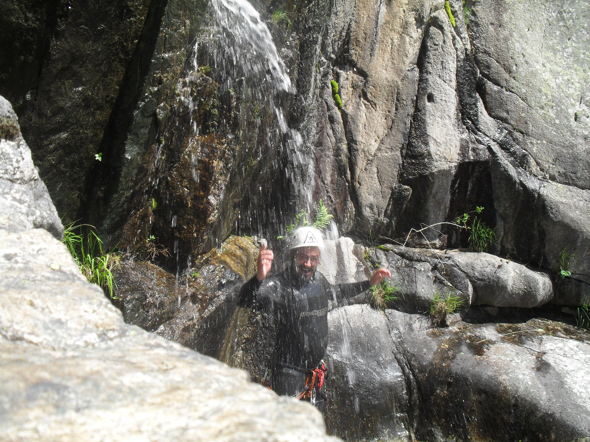 canyoning-vialais-caroux-montpellier-moniteur