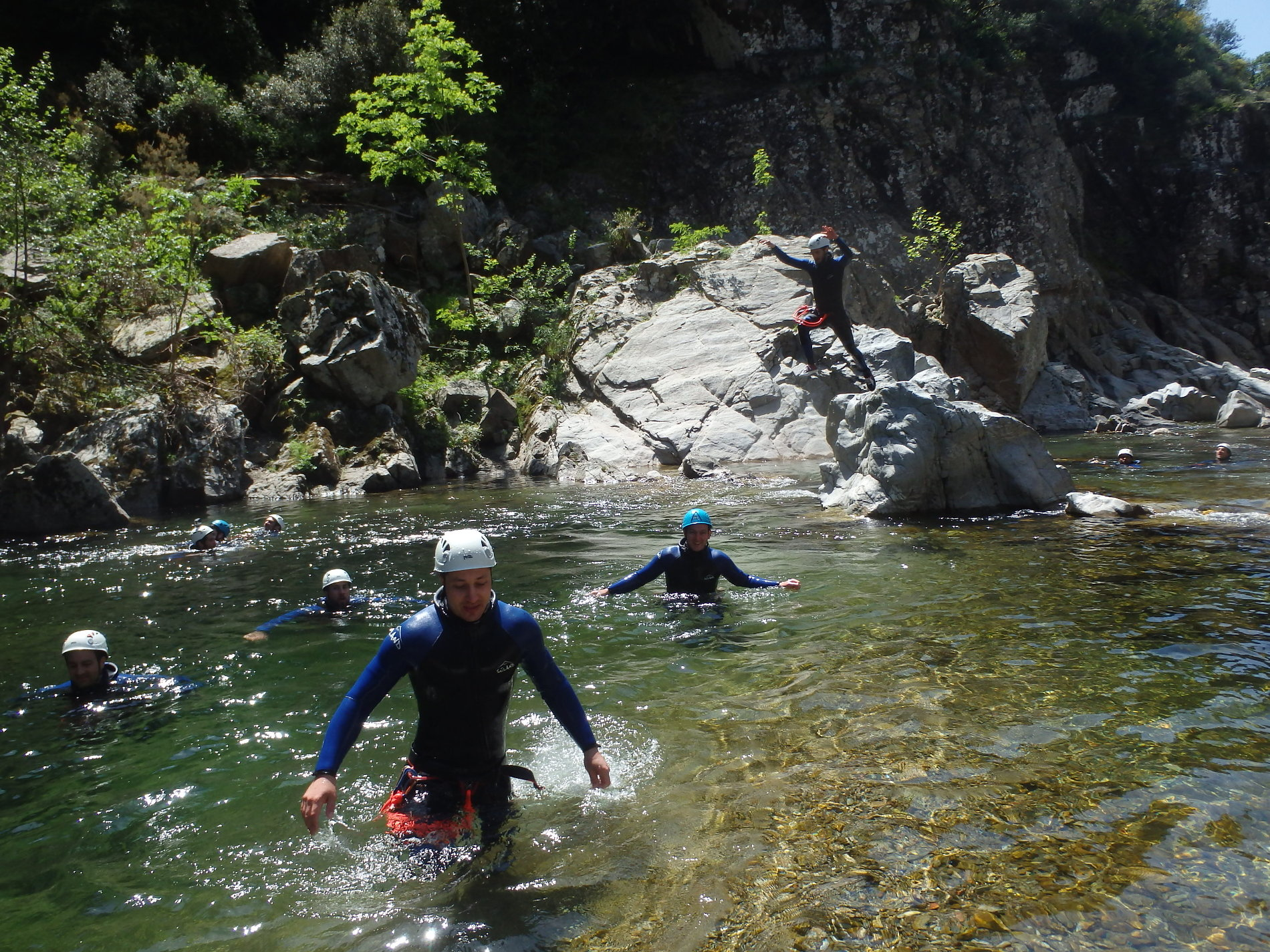 canyoning-vialais-herault-caroux-montpellier