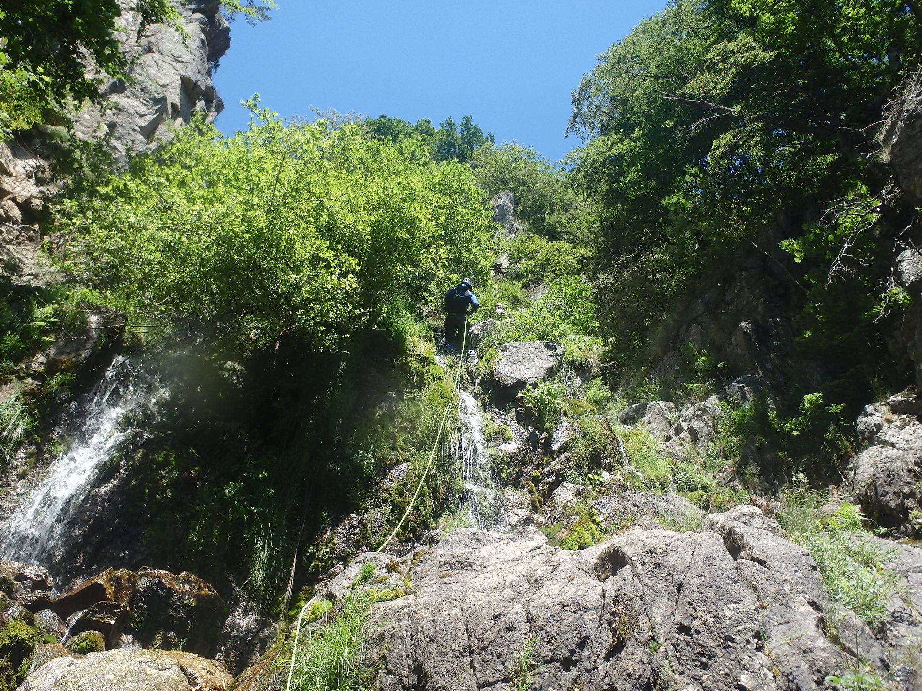 canyoning-vialais-moniteur-caroux-montpellier
