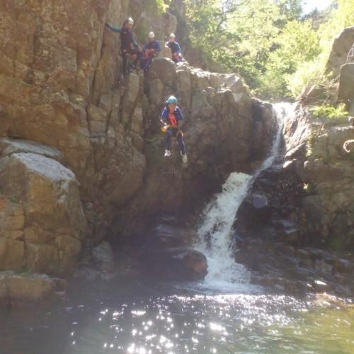 Canyon De L'Orgon Au Vigan En Cévennes Et Dans Le Gard