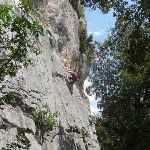 Escalade Découverte Dans Le Gard Et L'Hérault Près De Montpellier