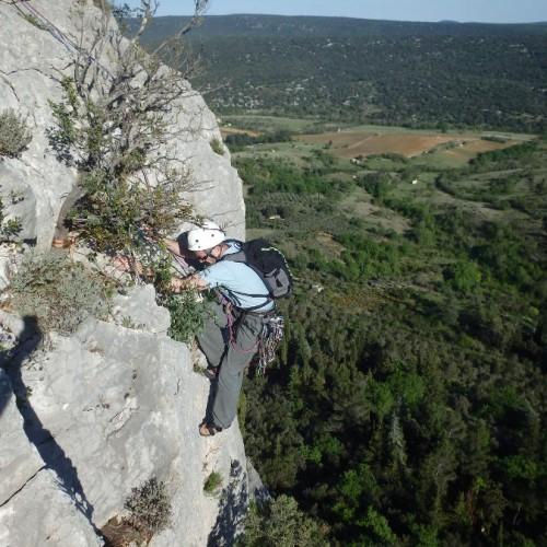 Escalade En Grande Voie Dans L'Hérault Et Le Gard En Languedoc