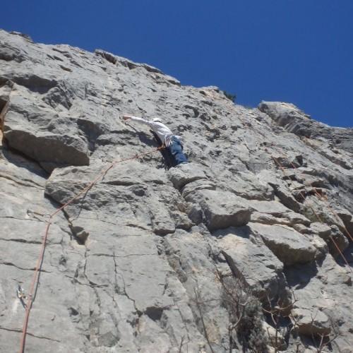 Moniteur D'escalade Dans L'Hérault En Languedoc-Roussillon, Près De Montpellier