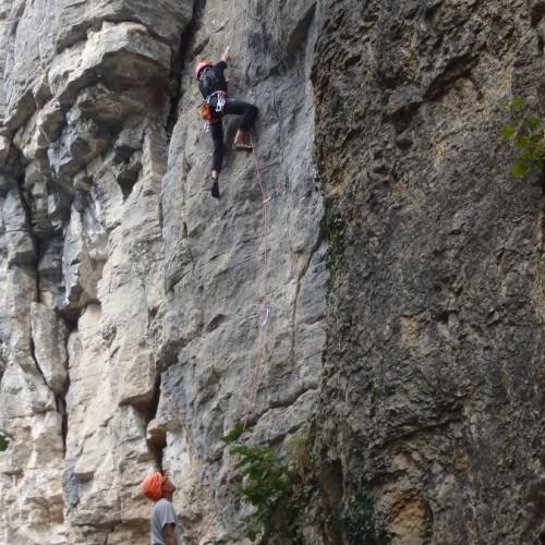 Moniteur D'escalade Près De Montpellier Dans L'Hérault Et Les Cévennes