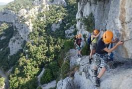 Via-ferrata Près De Ganges Et Montpellier Avec Les Moniteurs D'entre2nature