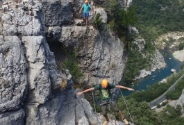 Via-ferrata Près De Montpellier En Cévennes Dans L'Hérault