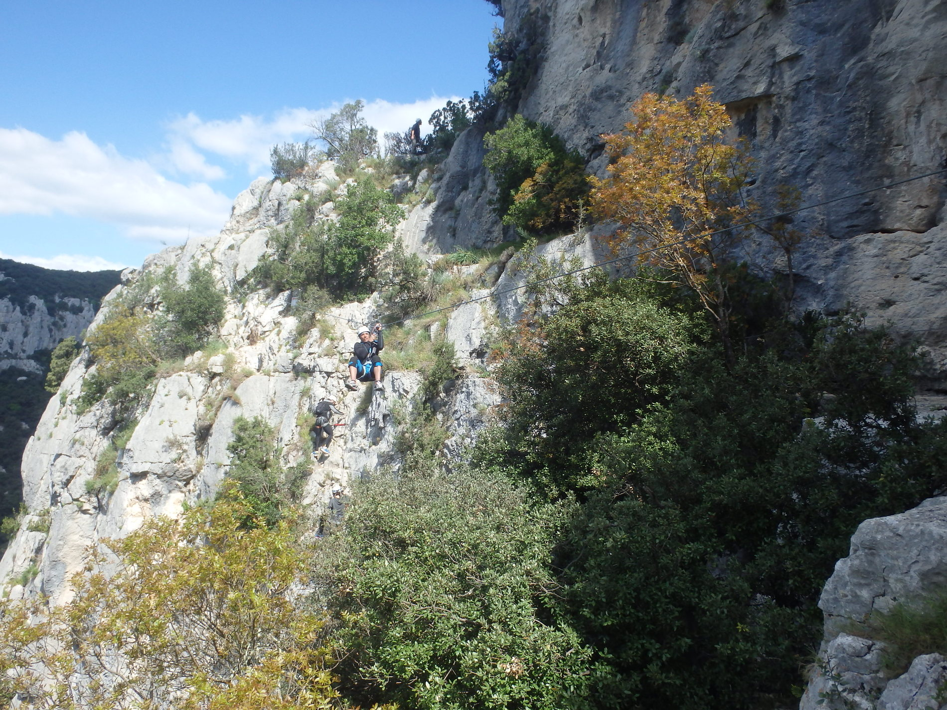 via-ferrata-montpellier-ganges-cevennes