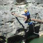 Canyon Du Diable Près De Montpellier Dans L'Hérault à St-Guilhem Le Désert En Languedoc