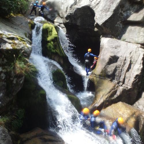 Canyoning Et Cascades En Cévennes, Dans Le Canyon Du Tapoul, Dans Le Village De Rousses.