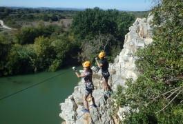 Via-ferrata Du Vidourle Entre Le Gard Et L'Hérault