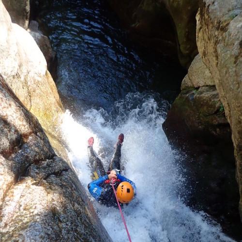 Canyon En Cévennes Au Tapoul Avec Entre2nature De Montpellier