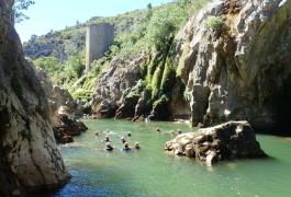 Canyon Du Diable Près De Saint-Guilhem Le Désert Et Montpellier En Occitanie